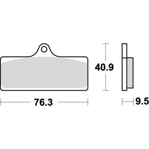 SBS 耐久ロードレース用ブレーキパッド 777-0785081