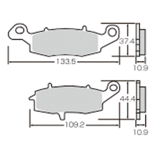 SBS ロードスポーツ専用ブレーキパッド 777-0886030