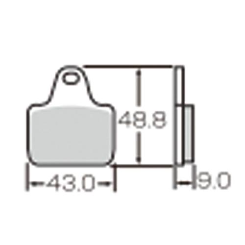 SBS 耐久ロードレース用ブレーキパッド 777-0887081