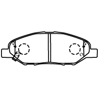 D1250M-02 ブレーキパッド