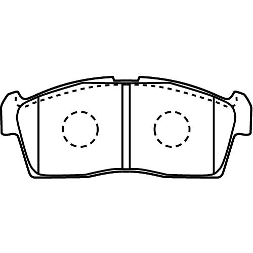 D9027-02 ブレーキパッド