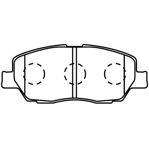 D9028-02 ブレーキパッド