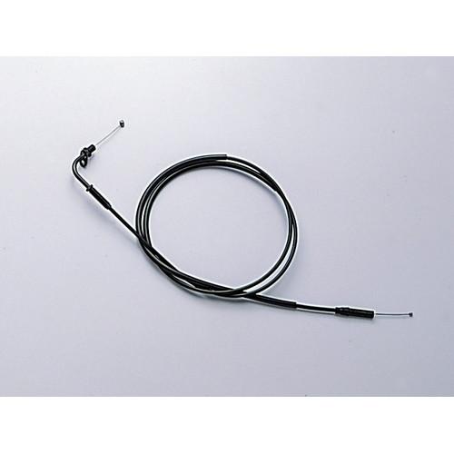 HB6399 ロング スロットルケーブル ブラック