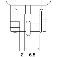 【ケース売り】1881 12V21W W3×16d クリア