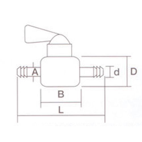 ガソリンコック ホース内径7/7.5mm用