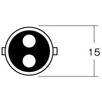 12V23/8W BAY15D レッド 1P3410RE