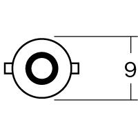【1個売り】B7103 6V3W BA9S