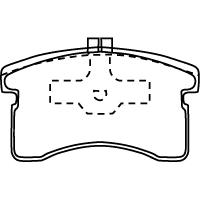 MD028 ブレーキパッド