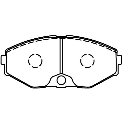 MD051M ブレーキパッド