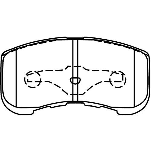 MD120 ブレーキパッド