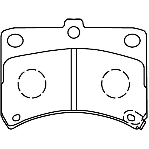 MD124M ブレーキパッド