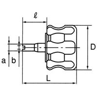 MVC-30 タイヤバルブレンチ