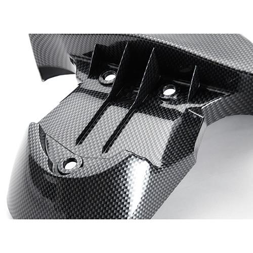 BWS125 フロントフェンダー カーボン調