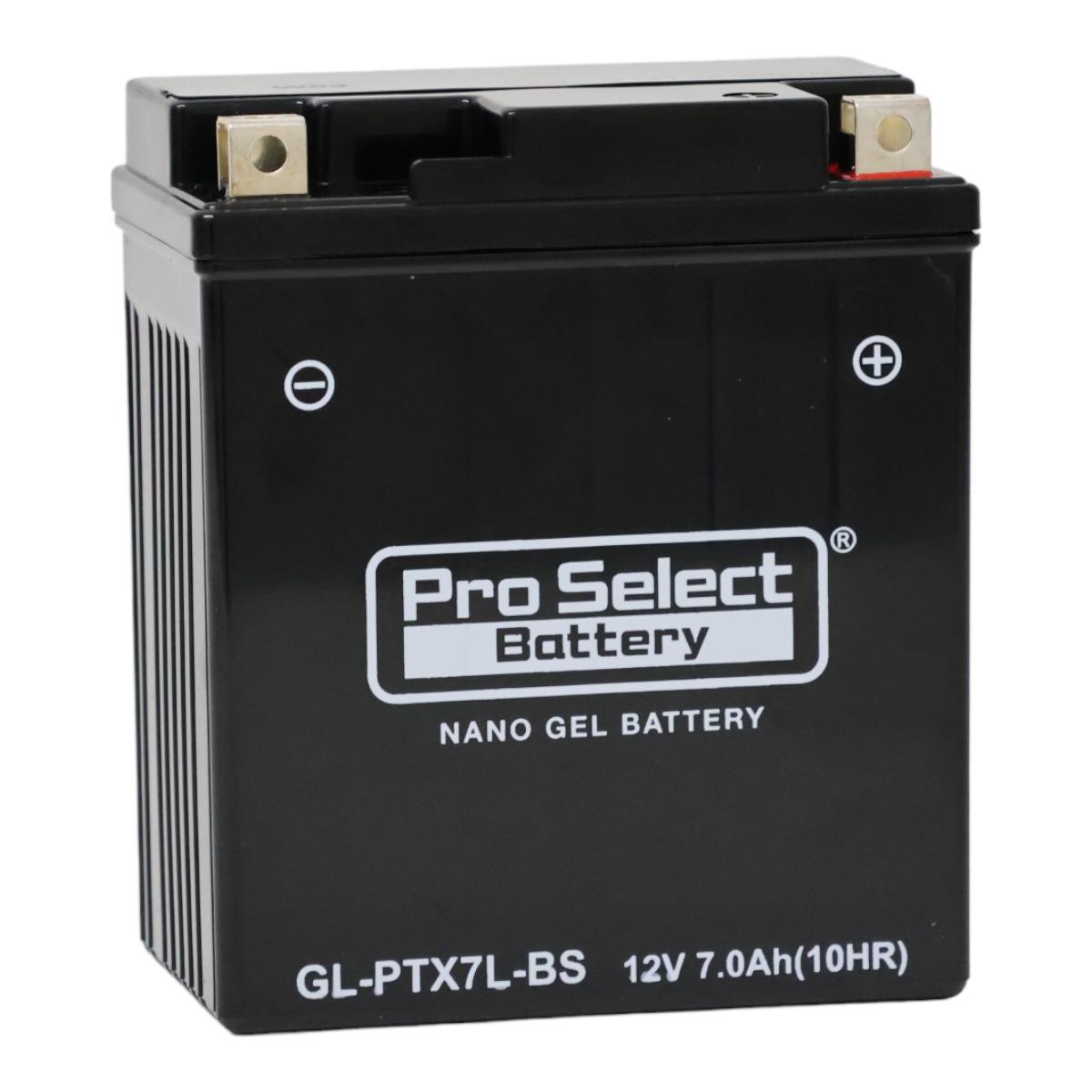 【1個売り】GL-PTX7L-BS (YTX7L-BS 互換)(ジェルタイプ 液入充電済)