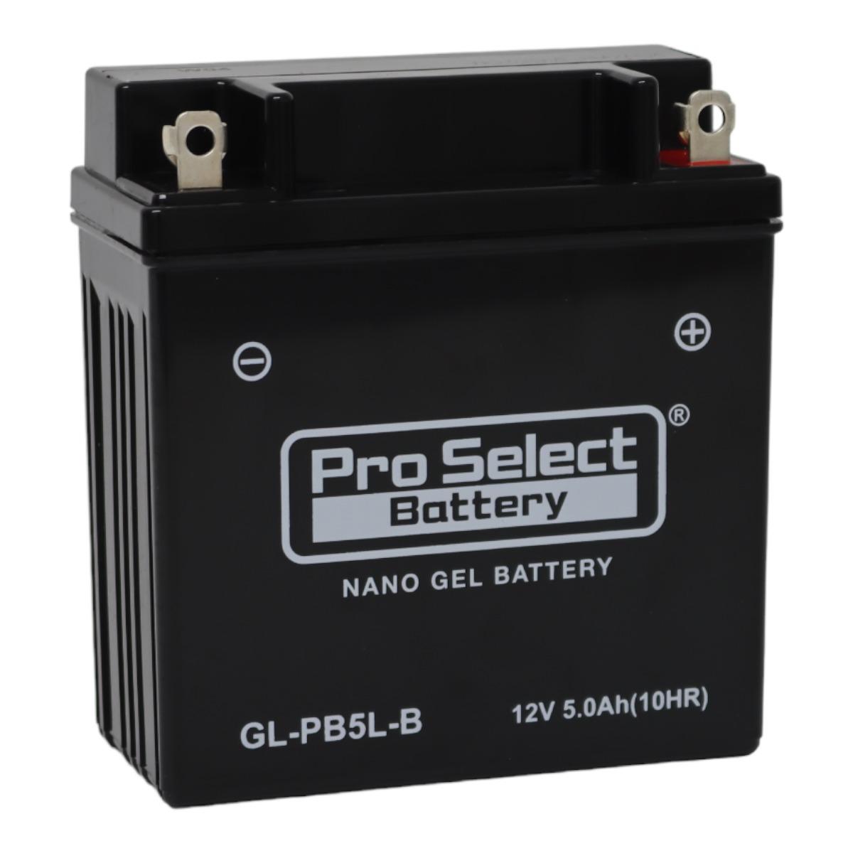 GL-PB5L-B (YB5L-B 互換)(ジェルタイプ 液入り充電済み)