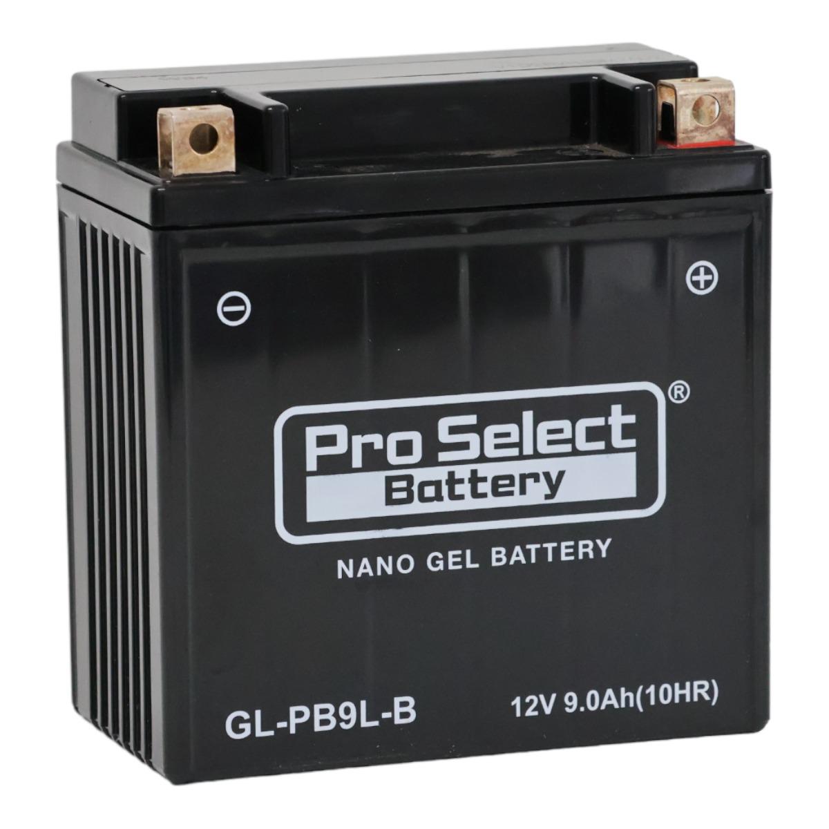 GL-PB9L-B (YB9L-B 互換)(ジェルタイプ 液入り充電済み)