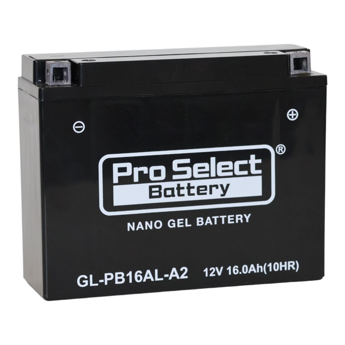 GL-PB16AL-A2 (YB16AL-A2 互換)(ジェルタイプ 液入り充電済み)