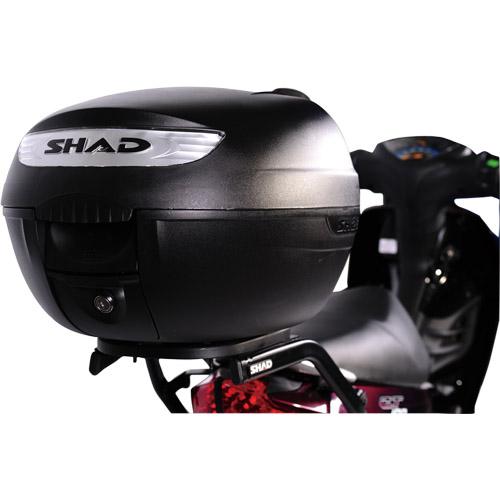 SH26 トップケース 無塗装ブラック