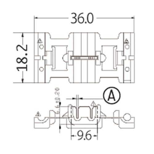 配線タップコネクター レッド
