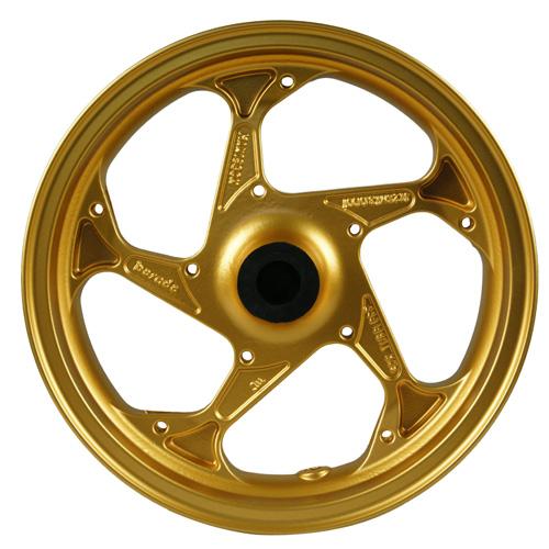アルミホイール GROM MSX125 ゴールド