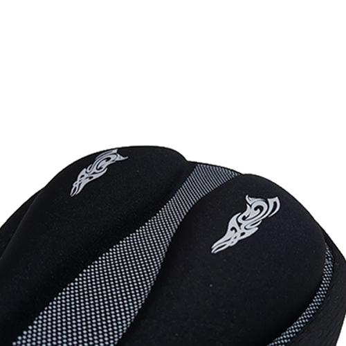 自転車サドルシートカバー ブラック FU-109668G-E1