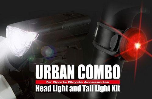 ANT-COM03-01 ヘッドライト&テールライトキット URBAN COMBO