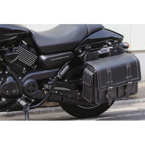 バッグサポート DHW ストリート750 ブラック/レフト