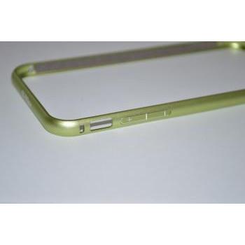 [iphone6] アルミバンパー [RC926] ライトグリーン
