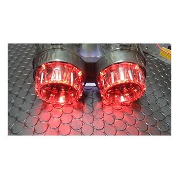 KOSO LEDテールアッセンタイプ1 レッド/ホワイト