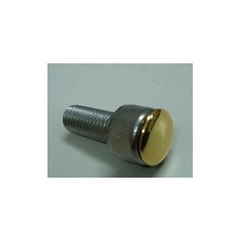 ヘックスボルト用 ヘッドキャップ 4mm ゴールドメッキ