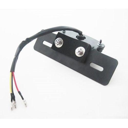 LEDスネークアイテールランプASSY マットブラック レッドテール
