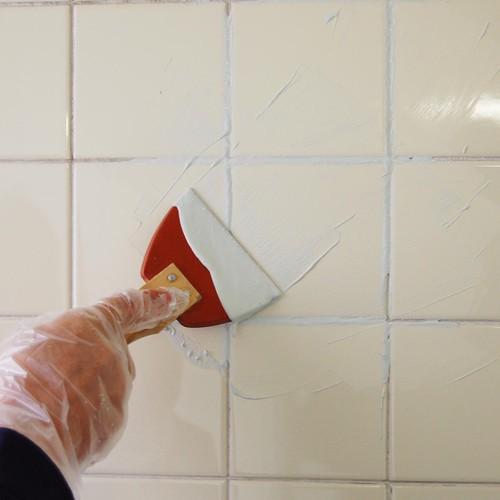 お風呂場・トイレ・台所用 タイル目地補修材