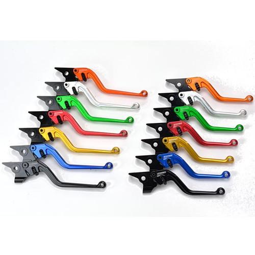 【受注生産品】クラッチレバー M011 ロング ブラック