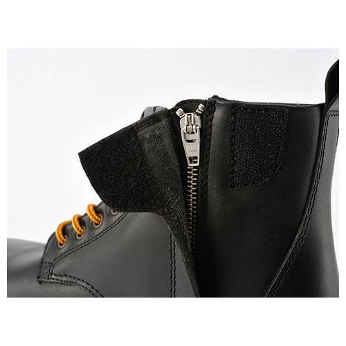 HBS-003 ショートブーツ ブラック 27.0cm