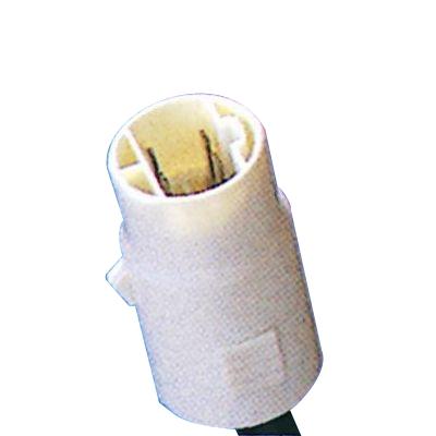 リアコンビネーションランプ補修用 2連式 右 丸型ソケットコネクタ