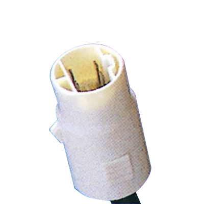 リアコンビネーションランプ補修用 2連式 左 丸型ソケットコネクタ