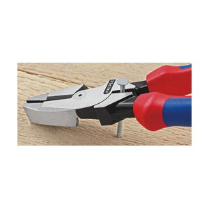 架線工事用強力ペンチ 圧着付