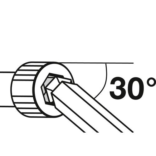 ホールドリング付六角レンチセット