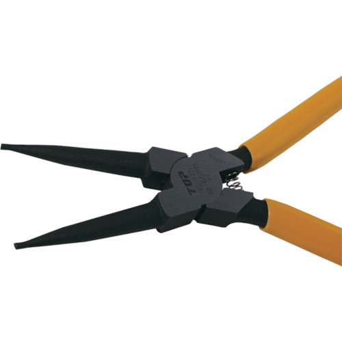 スナップリングプライヤ穴用直爪 125mm 使用範囲12〜25mm