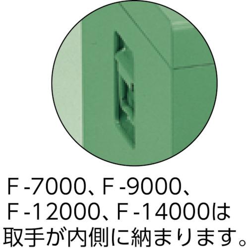 中型車載用工具箱 中皿付 500×330×280