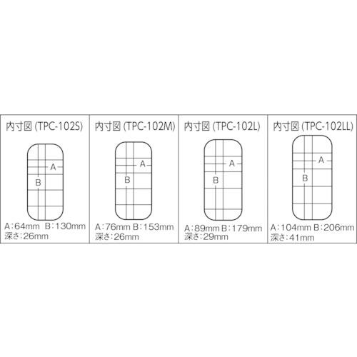 パーツケース 138×77×31