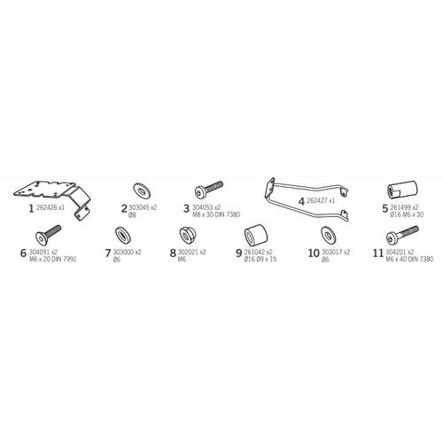 トップマスターフィッティングキット G-DINK 300i(18-19)