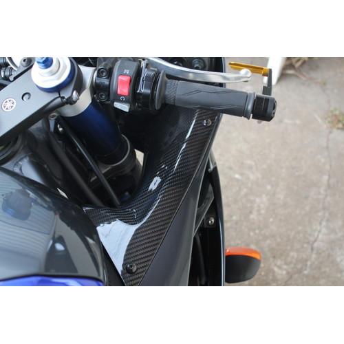 インナーサイドパネル 左右セット ドライカーボン 綾織艶消し