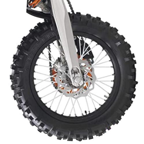 バイクホイール用 スポークカバー 72本セット 24cm ホワイト