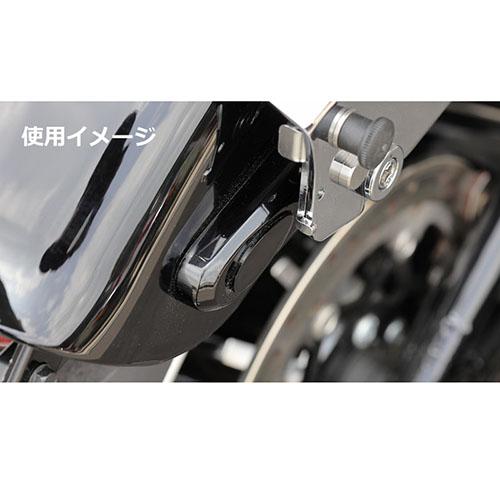 ウインカーホールカバー ブラック スポーツスター(14Y-) ソフテイル(18Y-)