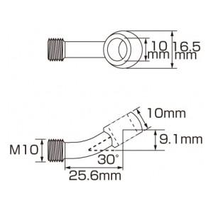 スーパーテフロン ステンメッシュブレーキホース 773-0065100