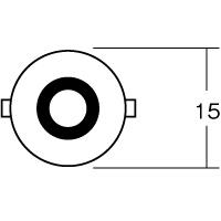 【ケース売り】B5105 12V5W BA15S