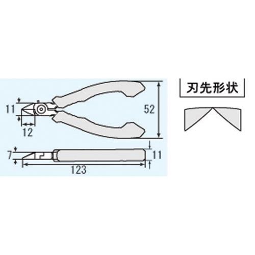 マイクロニッパー φ0.8 65g