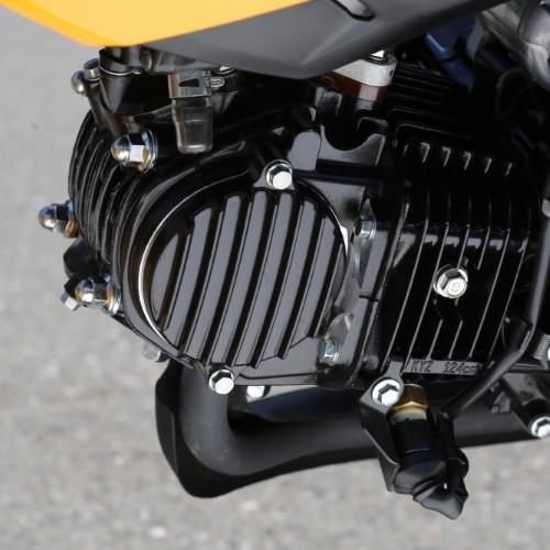 GROM アルミ削り出しエンジン カムチェーンポイントカバー ブラック