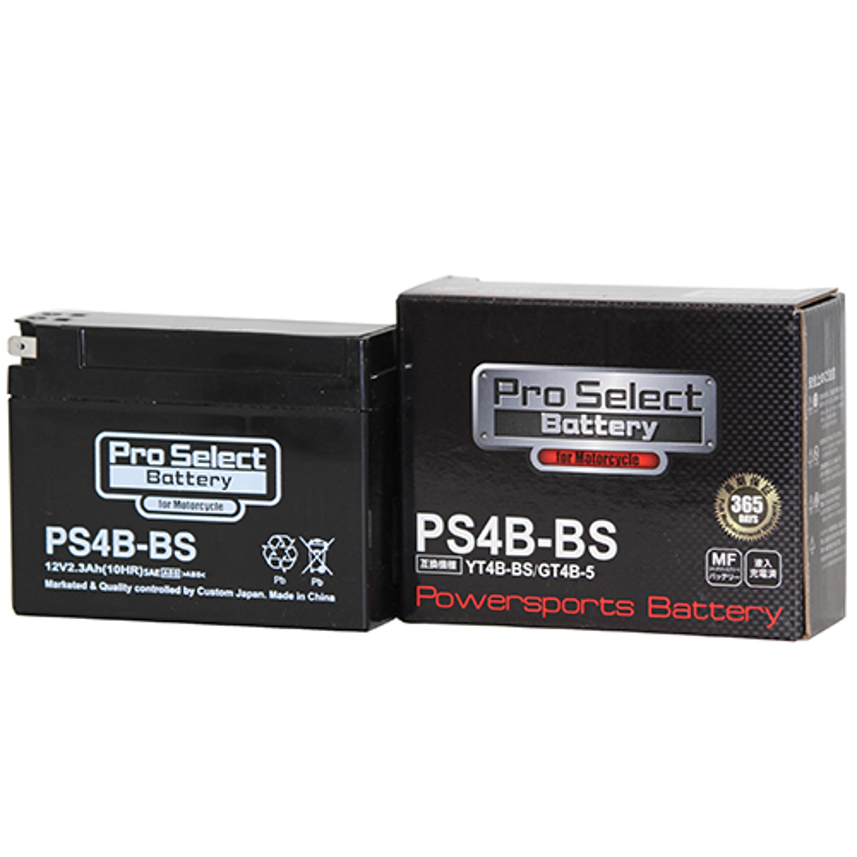 【1個売り】PS4B-BS (YT4B-BS、GT4B-5 互換)(液入充電済)